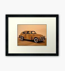Volvo PV Painting Framed Print