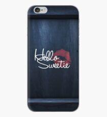 Hello Sweetie iPhone Case