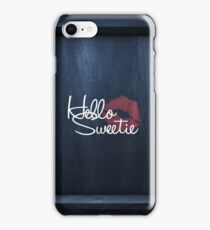 Hello Sweetie iPhone Case/Skin