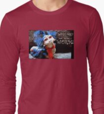 """The Labyrinth Worm Quote """"who, me? Nahh, im just a worm"""" T-Shirt"""