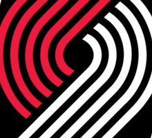 Portland Trail Blazers Retro  Sticker