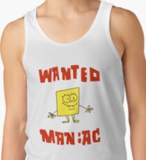 SpongeBob SquarePants Classic - Wanted Maniac Tank Top