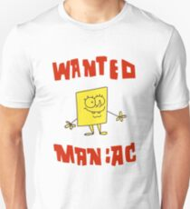 SpongeBob SquarePants Classic - Wanted Maniac T-Shirt