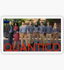 Quantico Sticker