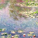 Water Lilies - Claude Monet by BWootla