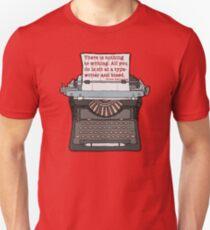 Bleed Words Unisex T-Shirt