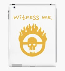 Witness Me iPad Case/Skin