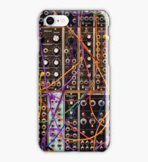 Moog Modular Synthesizer Control Panel iPhone Case/Skin