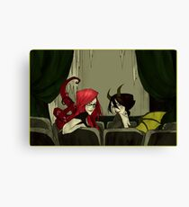 The Girls in the Back Row (Unlettered Logo) Canvas Print