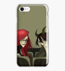 The Girls in the Back Row (Unlettered Logo) iPhone Case/Skin