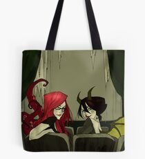 The Girls in the Back Row (Unlettered Logo) Tote Bag