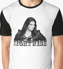 Floor Jansen - Nightwish Graphic T-Shirt