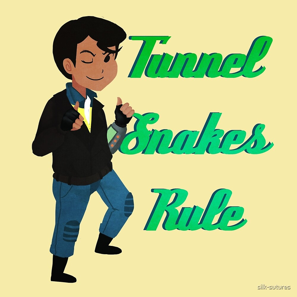 TUNNEL SNAKES RULE! by silk-sutures