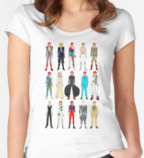 Outfits of Bowie Fashion Women's Fitted Scoop T-Shirt