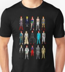 Outfits of Bowie Fashion T-Shirt