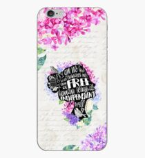 Jane Eyre - No Bird iPhone Case