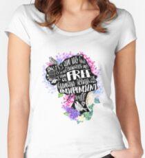 Jane Eyre - No Bird Women's Fitted Scoop T-Shirt
