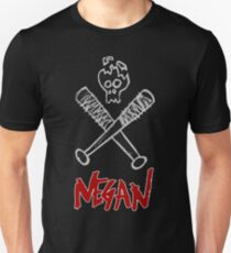 Negan - Cracked Skull and Crossed Bats T-Shirt