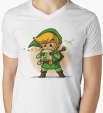 The Legend Of Zelda Men's V-Neck T-Shirt