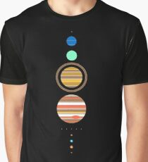Solar System Graphic T-Shirt