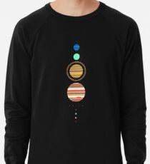 Solar System Lightweight Sweatshirt