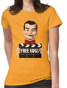 slappy free hugs Womens Fitted T-Shirt