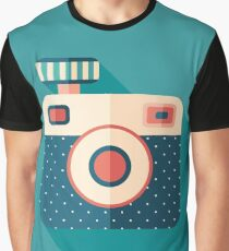 Camera with Flash Graphic T-Shirt