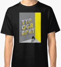 Typography Classic T-Shirt