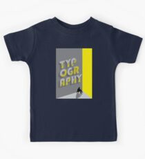 Typography Kids Tee