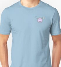 """Grape Soda"" pin - Up. Unisex T-Shirt"