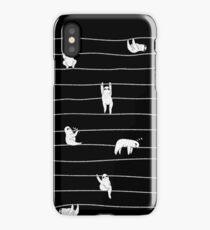 Sloth Stripe iPhone Case