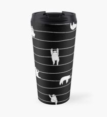 Sloth Stripe Travel Mug