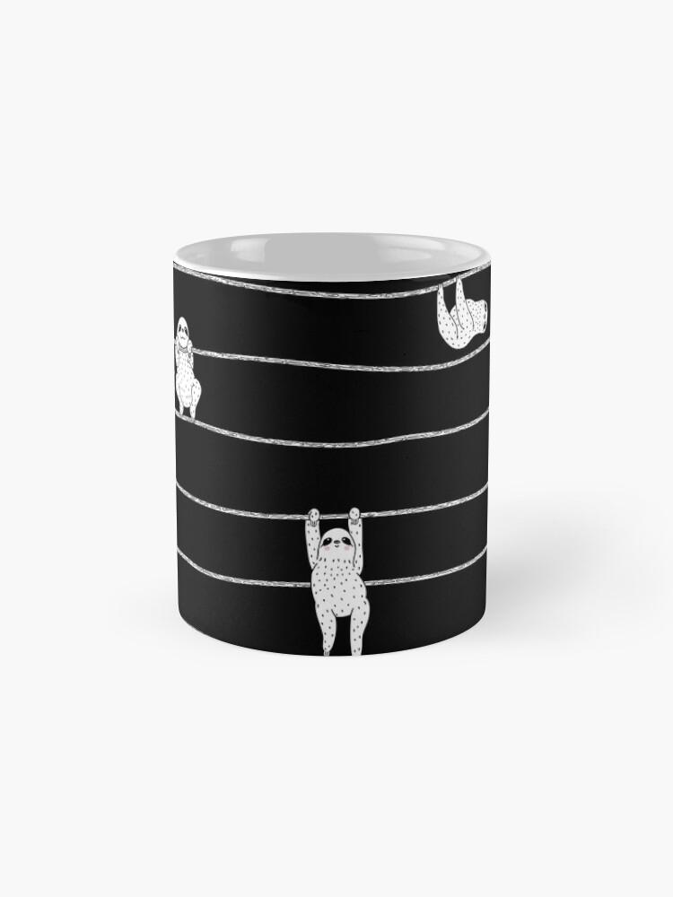 Alternate view of Sloth Stripe Mug