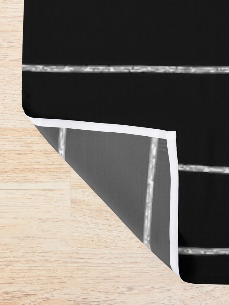 Alternate view of Sloth Stripe Shower Curtain