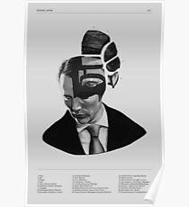 Hannibal Lecter Phrenology Poster
