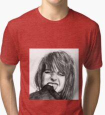 Hayley Williams Drawing Tri-blend T-Shirt