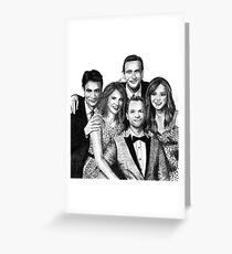How I Met Your Mother Drawing Greeting Card