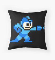 Mega Man Game 8-Bits Throw Pillow