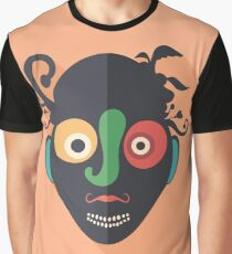 Amazed Clown Graphic T-Shirt