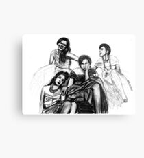 HBO Girls Drawing Metal Print