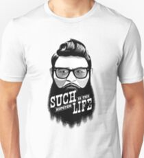 Ned Kelly - the first hipster Unisex T-Shirt