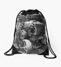 Old Friends Drawstring Bag