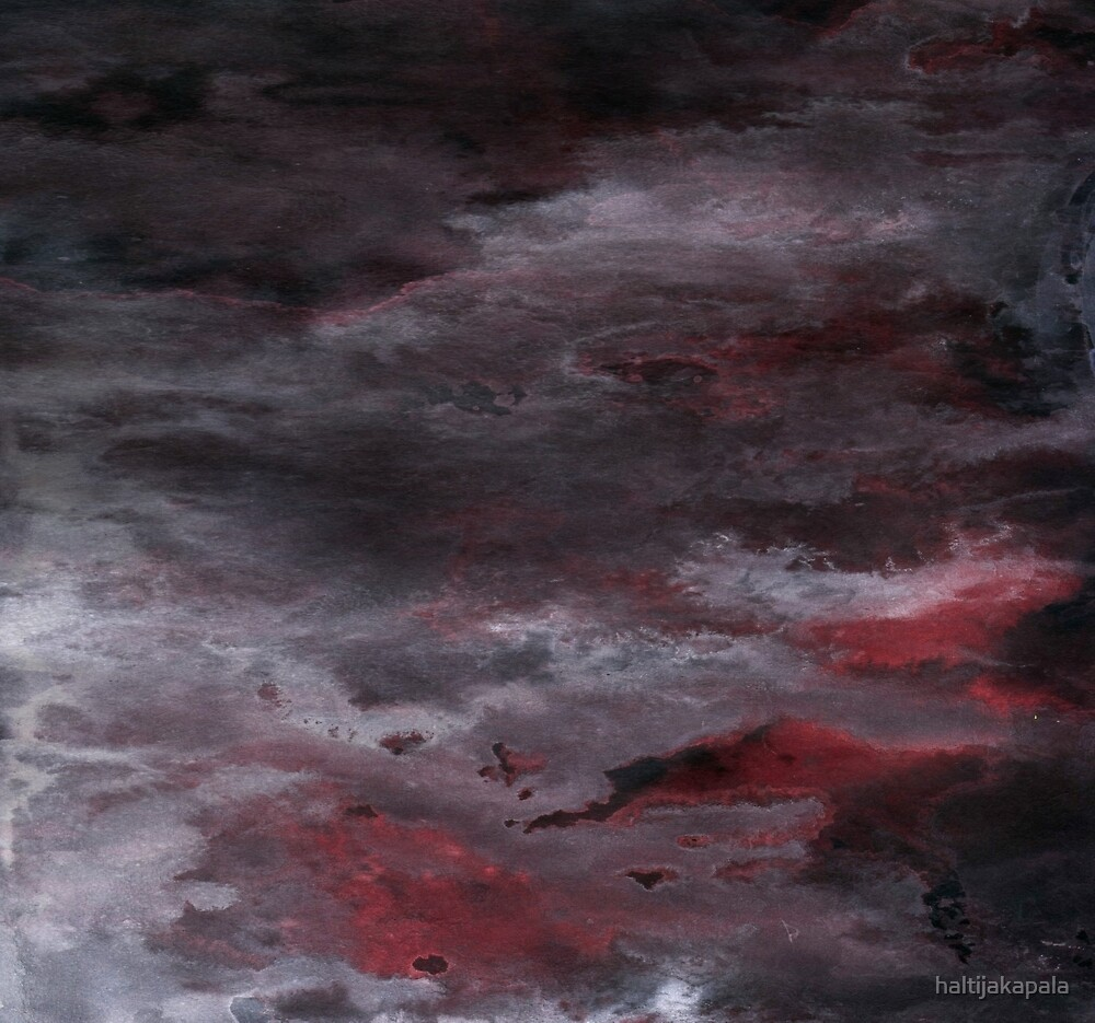 Sea of Blood, Leaden Sky by haltijakapala