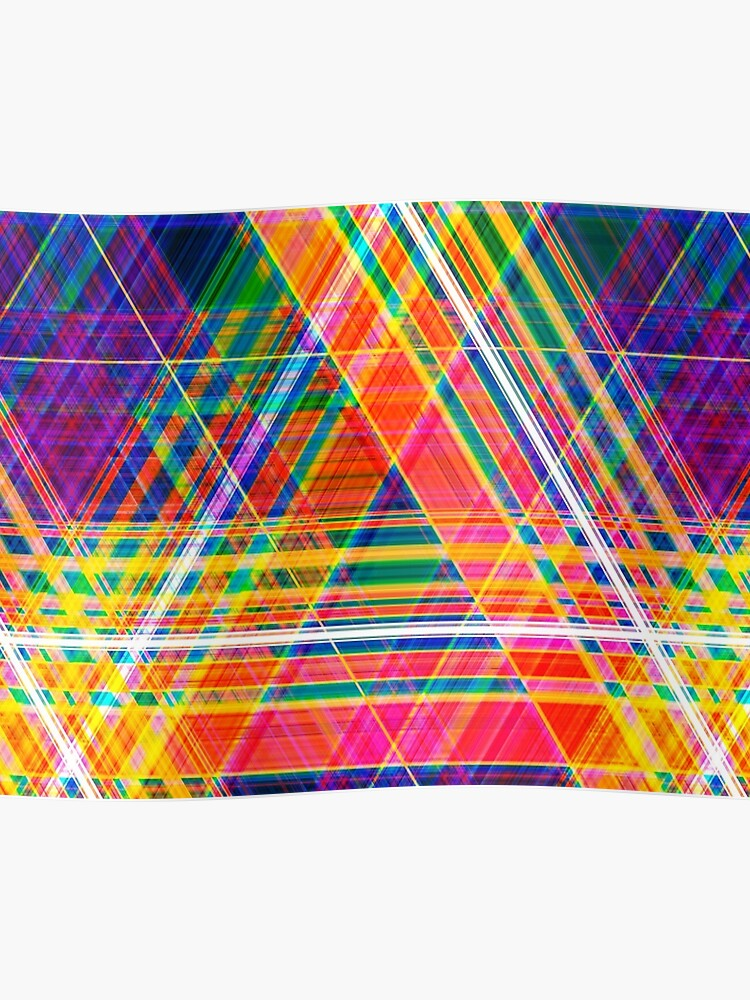 Abstract Colorful Background Created Using Horizontal And Diagonal Stripes Neon Colors Illustration Can Be Used For Posters Flyers Or Webdesign