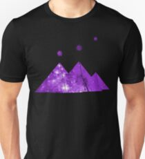 Cosmic Egypt Giza Pyramids with Stars of Orion's Belt Slim Fit T-Shirt