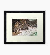 McWay Falls - Big Sur - California USA Framed Print