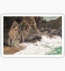 McWay Falls - Big Sur - California USA Sticker