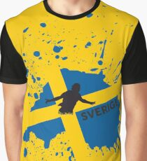 Sverige Graphic T-Shirt
