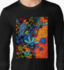 spleen dream three sea Long Sleeve T-Shirt