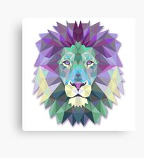 LION THE WISE Canvas Print